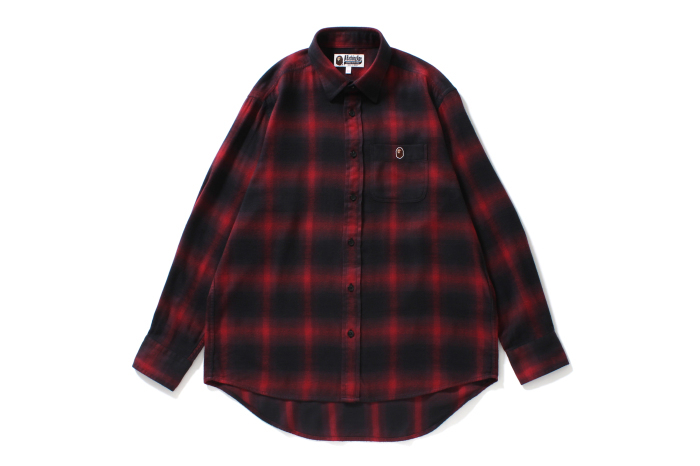 COLLEGE OMBRE CHECK SHIRT_a0174495_12322471.jpg