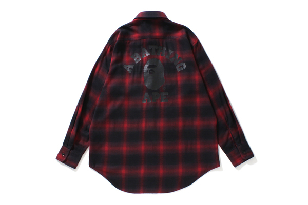 COLLEGE OMBRE CHECK SHIRT_a0174495_12323687.jpg