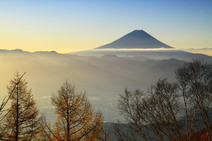 29年11月の富士(18)甘利山の富士_e0344396_09153023.jpg