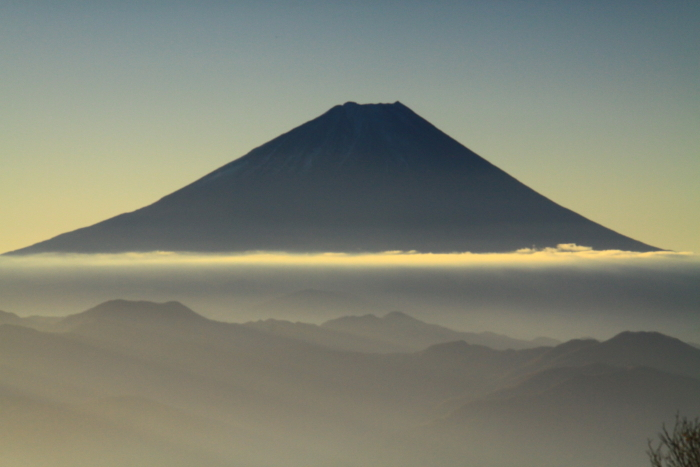 29年11月の富士(18)甘利山の富士_e0344396_09154691.jpg