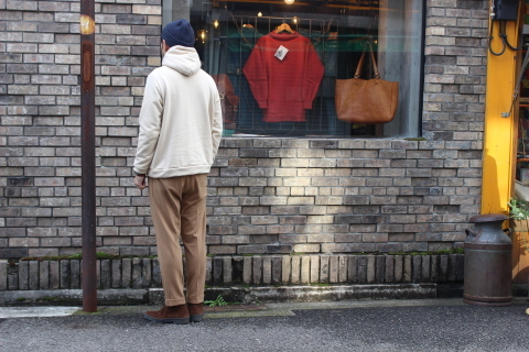 "軽くて暖かい「Jackman」 ""SWEAT PARKA\"" JM7777 ご紹介_f0191324_08303456.jpg"