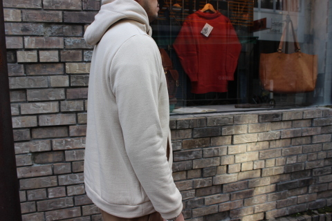 "軽くて暖かい「Jackman」 ""SWEAT PARKA\"" JM7777 ご紹介_f0191324_08314021.jpg"