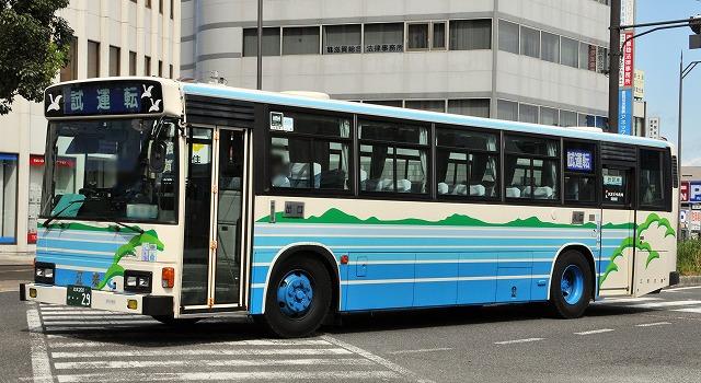江若交通~ブルーリボンHU(長尺車)_a0164734_21404797.jpg