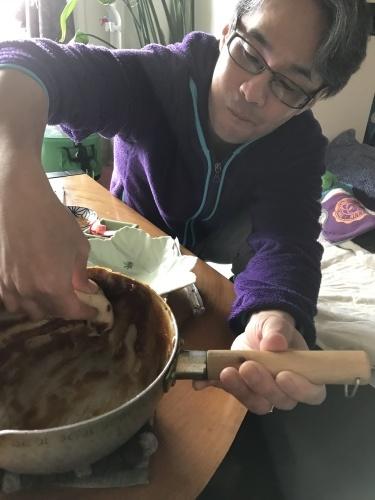 鍋まで舐めたい柚子七味の田楽みそ_b0307951_18123792.jpg