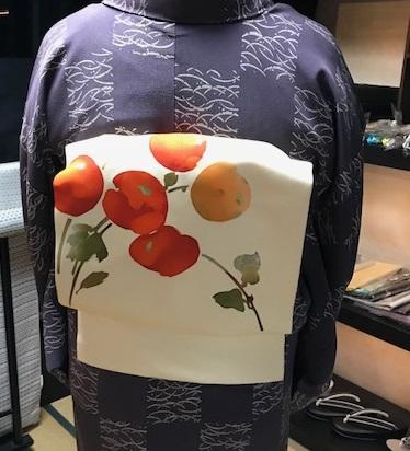 柿の帯のお客様・イナクラフト展、インドネシアのお客様。_f0181251_17165011.jpg