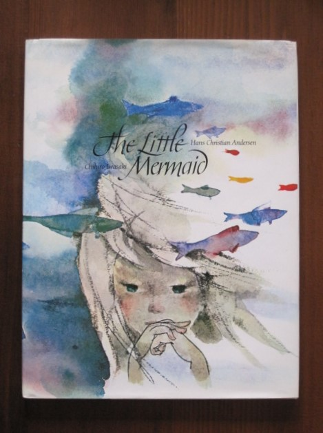 Book:いわさきちひろのThe LIttle mermaid_c0084183_19363456.jpg