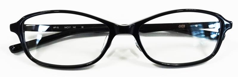 999\'9(フォーナインズ)2017年秋新作コレクション「眼鏡は道具である」アドバンスプラスチックフレームAP-15発売開始!_c0003493_17312790.jpg