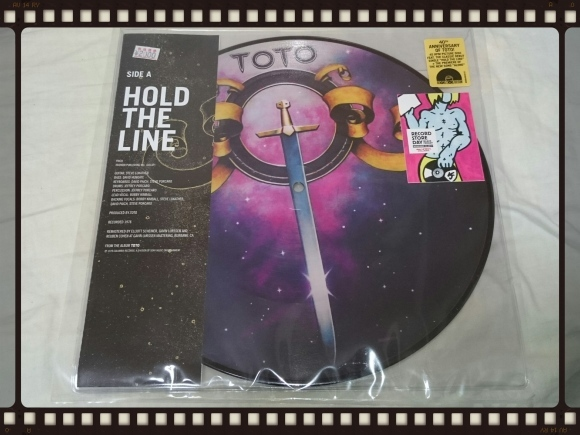 TOTO HOLD THE LINE / ALONE 10\'アナログ_b0042308_16460876.jpg