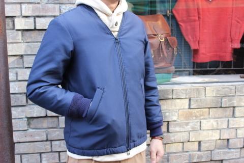 """表情あるジャケット「Jackman」\""""Collarless Jacket\"""" JM8775ご紹介_f0191324_07562151.jpg"""