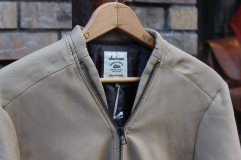 """表情あるジャケット「Jackman」\""""Collarless Jacket\"""" JM8775ご紹介_f0191324_07572643.jpg"""