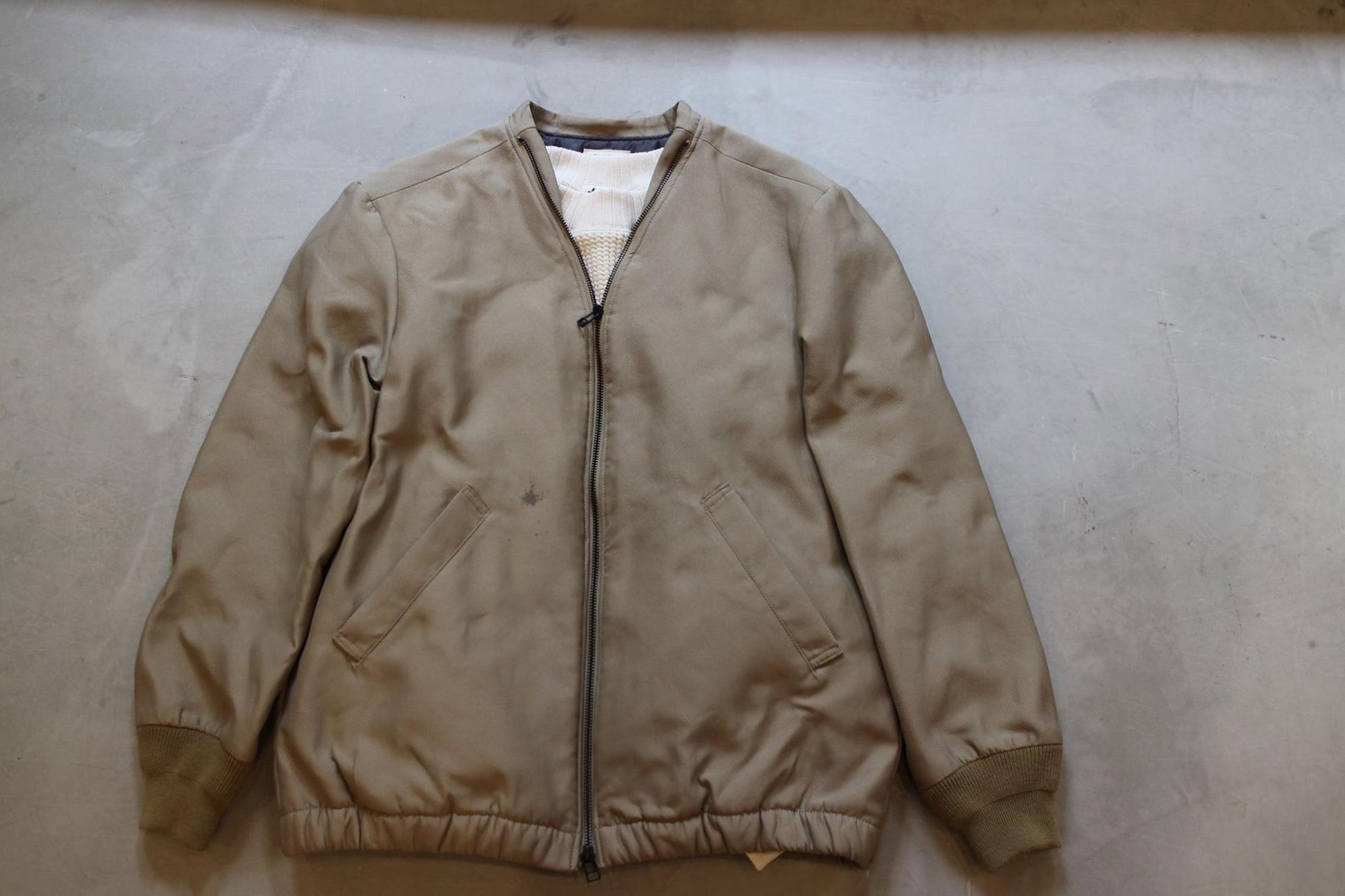 """表情あるジャケット「Jackman」\""""Collarless Jacket\"""" JM8775ご紹介_f0191324_08141708.jpg"""
