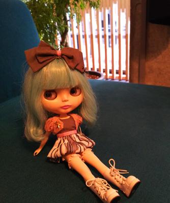 ロビンちゃん&うちの娘たちと渋谷の隠れ家的カフェでランチ_a0275527_21550355.jpg