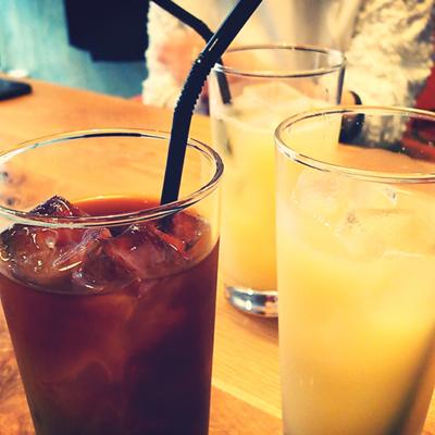 ロビンちゃん&うちの娘たちと渋谷の隠れ家的カフェでランチ_a0275527_21550416.jpg