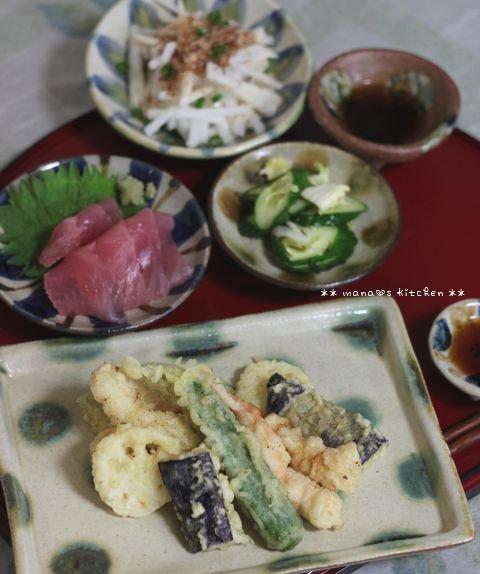 ピリ辛そぼろ丼 ✿ 天ぷら定食(๑¯﹃¯๑)♪_c0139375_1195449.jpg