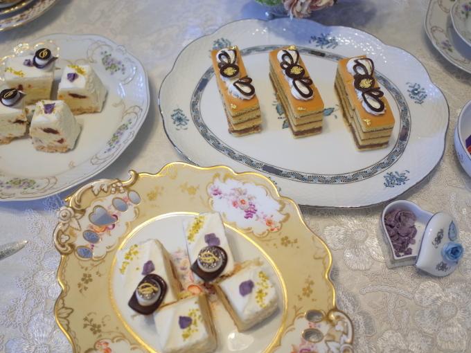 エリザベート皇妃のお茶会⑨ ~高野シェフバージョン~_c0188784_12500537.jpg