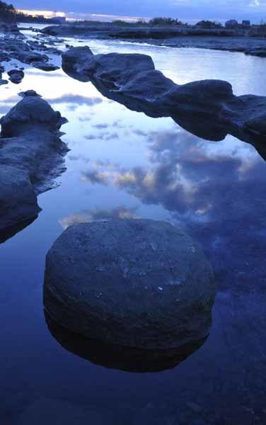 多摩川の夜明け_f0173596_10211809.jpg