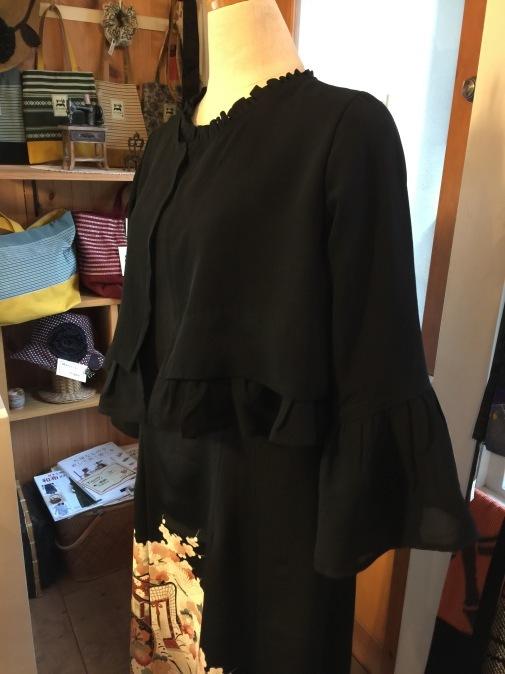 着物リメイク・留袖からボレロ&ドレス_d0127925_15595535.jpg