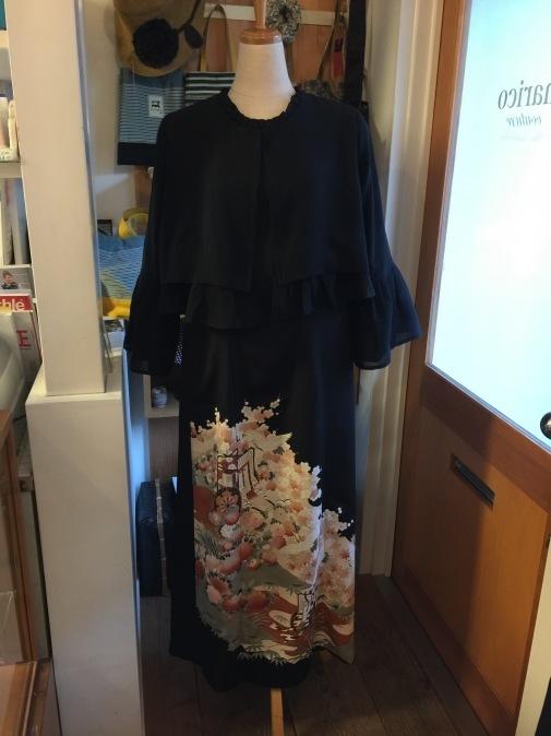 着物リメイク・留袖からボレロ&ドレス_d0127925_16000701.jpg