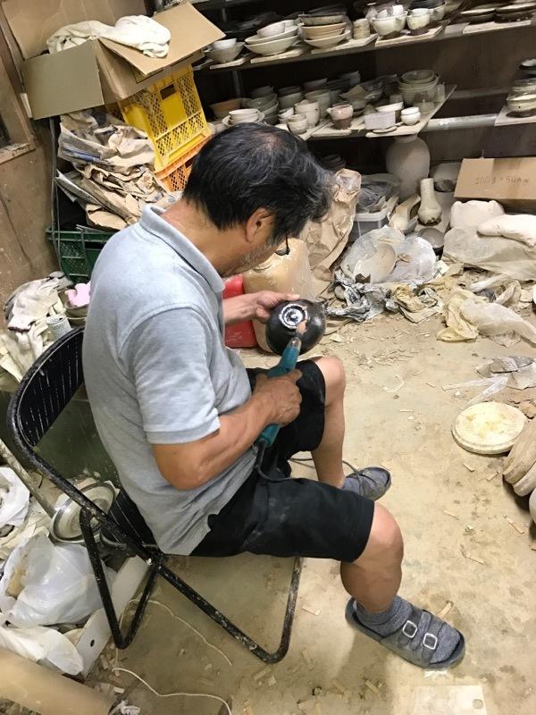 村木雄児さんの工房訪問 7月中頃_b0132442_17285117.jpg