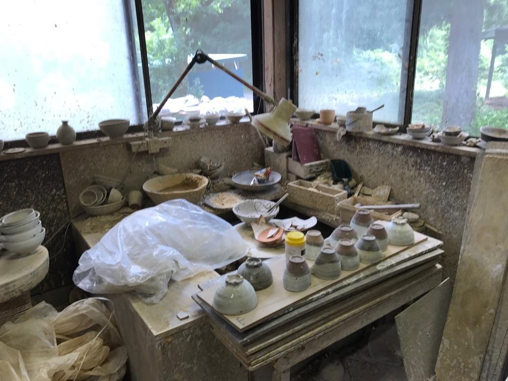村木雄児さんの工房訪問 7月中頃_b0132442_17300230.jpg