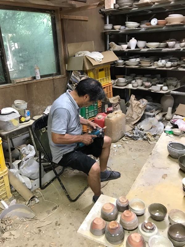 村木雄児さんの工房訪問 7月中頃_b0132442_17310492.jpg
