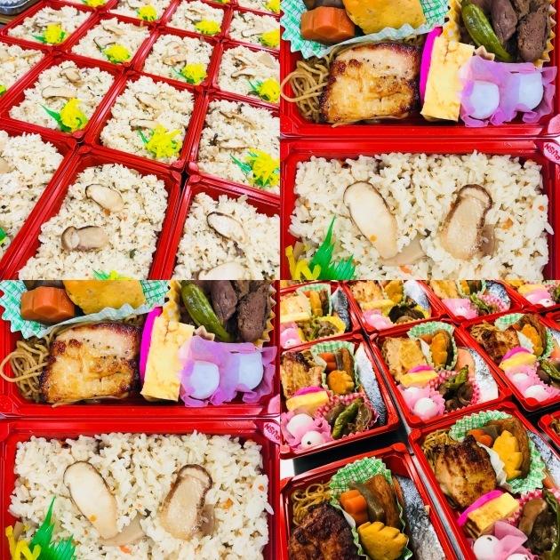 ピクニック用松茸ご飯入り行楽弁当_d0355765_10261400.jpeg