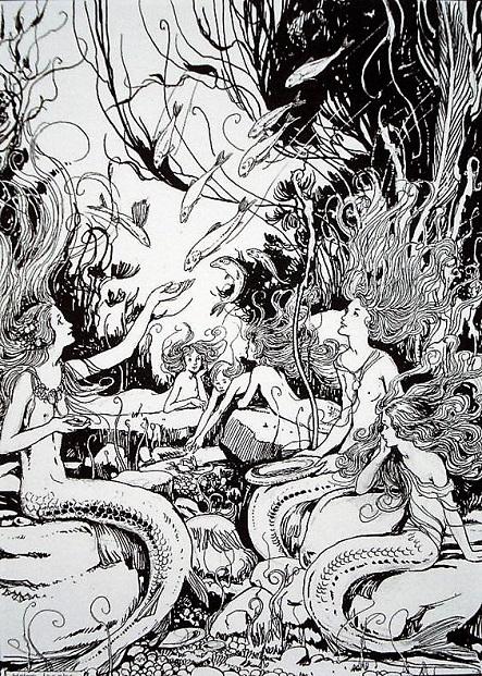 ヘレン・ジェイコブス画の人魚姫②_c0084183_19572676.jpg