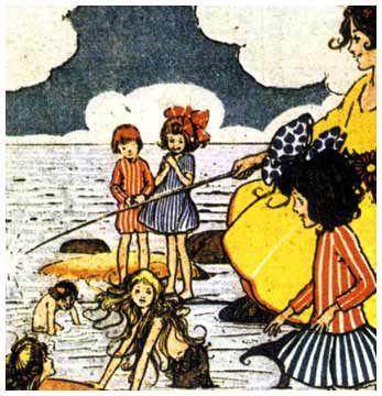 ヘレン・ジェイコブスの雑誌表紙画に人魚♡_c0084183_20271277.jpg