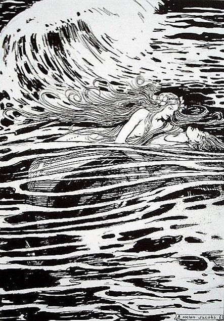 ヘレン・ジェイコブス画の人魚姫②_c0084183_208780.jpg