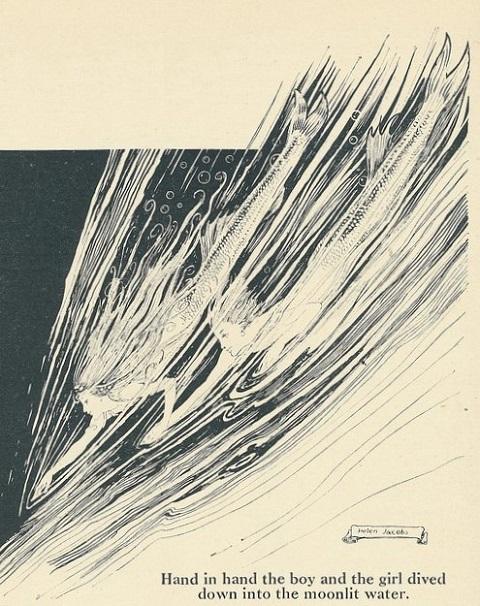 ヘレン・ジェイコブスの人魚画_c0084183_21413773.jpg