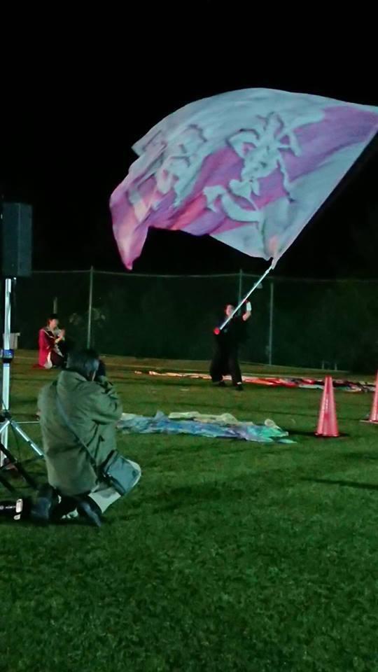 第4回よさバカinフルーツパーク『薫風旗士』_f0184198_00145483.jpg
