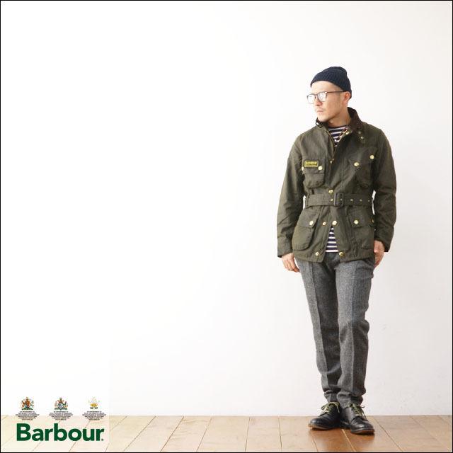 Barbour[バブアー] INTERNATIONAL JACKET SLIM /インターナショナル スリム フィットジャケット[MWX1016] スリムインターナショナルジャケット _f0051306_17044660.jpg