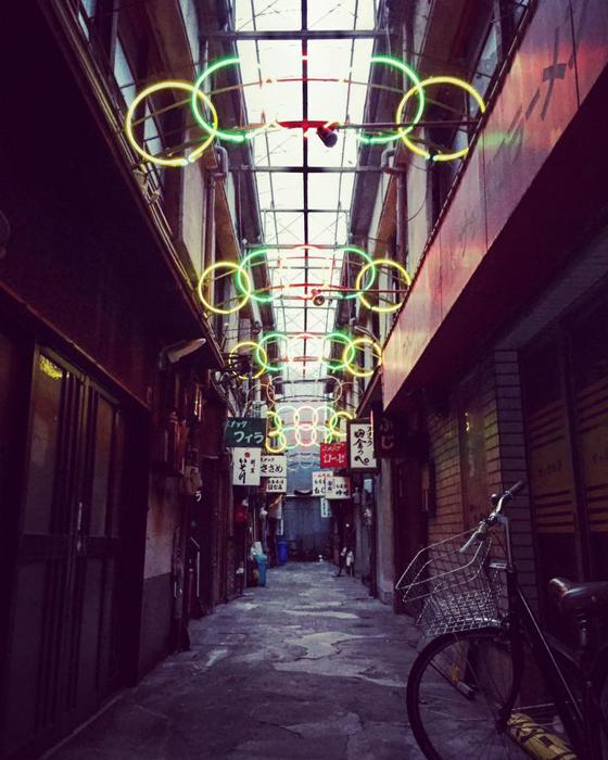 丸川センター / 岐阜市柳ケ瀬通 / iPhone 6_c0334533_19493228.jpg
