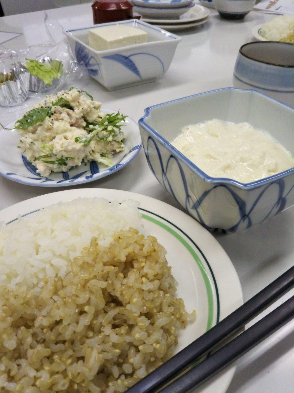 ー食育フェスー②豆腐屋さんになってみよう! 終了報告_b0297136_12441142.jpg