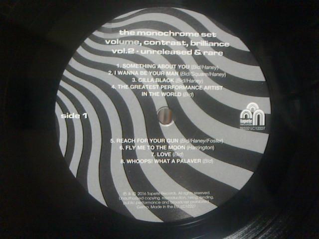 Volume,Contrast,Brilliance...Unreleased&Rare vol.2  / The Monochrome Set_c0104445_2022537.jpg