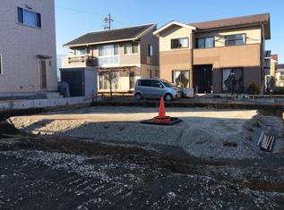 松本市和田 住宅着工しました_e0180332_15452618.jpg