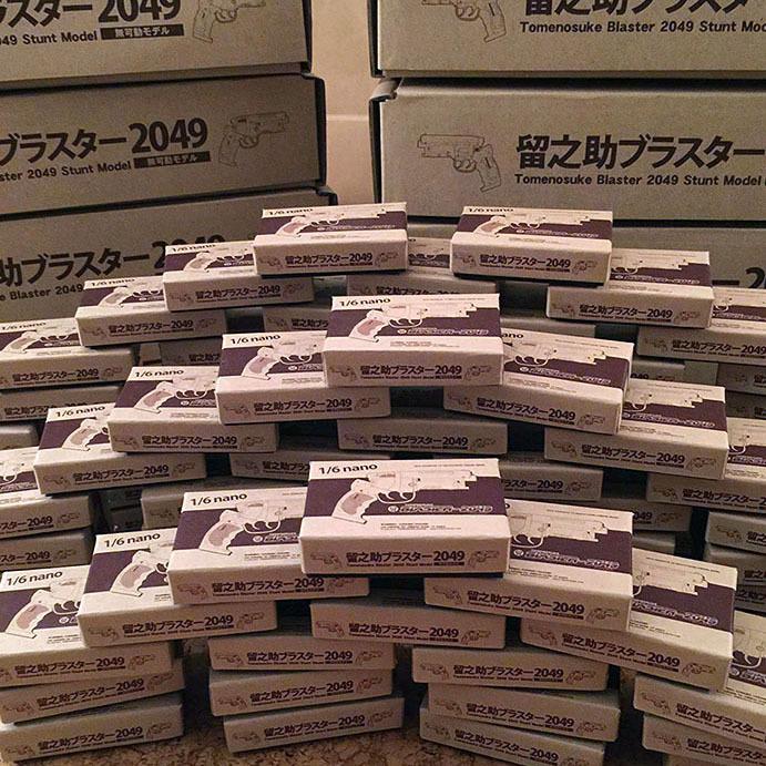 東京コミコン:留ブラ1/6nano組立キット、100個準備完了_a0077842_00175002.jpg