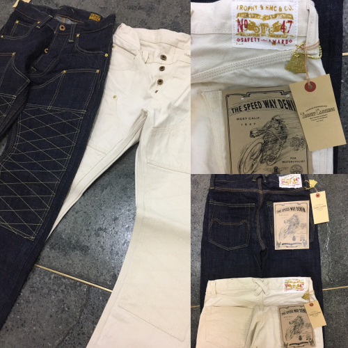 THE SPEEDWAY W-KNEE DENIM 発売!!_b0238461_19222307.jpg