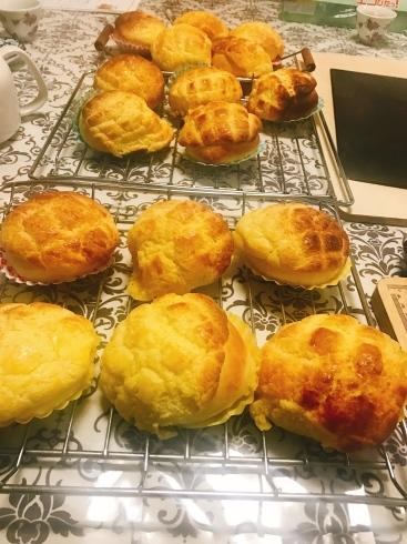 潮州粉果、パイナップルパン、胡椒餅、お料理レッスン_a0175348_19335253.jpg