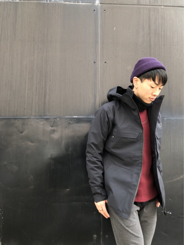 "Put on the ""Powdance Triclimate Jacket\"" !! ②_d0227059_09514878.jpg"