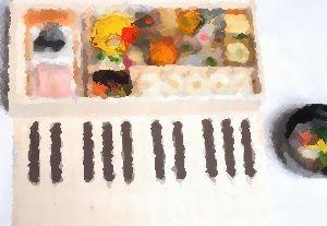 ミニハンバーグ弁当 ✿ てぃびちの煮つけ(๑¯﹃¯๑)♪_c0139375_11134786.jpg