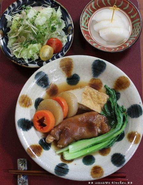 ミニハンバーグ弁当 ✿ てぃびちの煮つけ(๑¯﹃¯๑)♪_c0139375_11152786.jpg