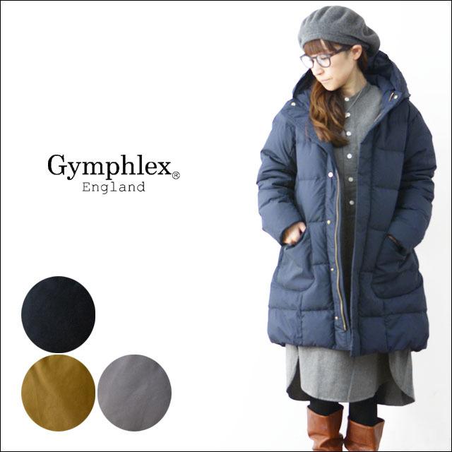 Gymphlex [ジムフレックス] POLYESTER TAFFETA DOWN COAT[J-1259TUF] ポリエステル・タフタ・ダウンコート LADY\'S_f0051306_10121108.jpg