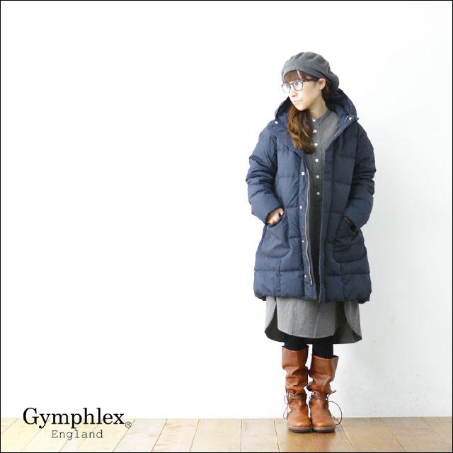 Gymphlex [ジムフレックス] POLYESTER TAFFETA DOWN COAT[J-1259TUF] ポリエステル・タフタ・ダウンコート LADY\'S_f0051306_10121897.jpg