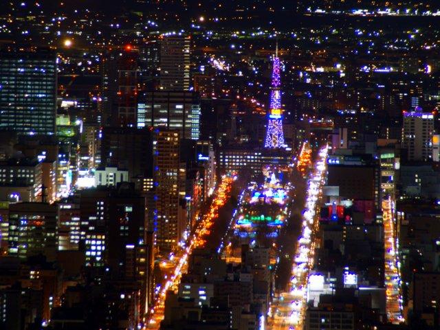 2017年11月27日(月)  冬の夜のきらめき(2)  大倉山_a0345007_112293.jpg