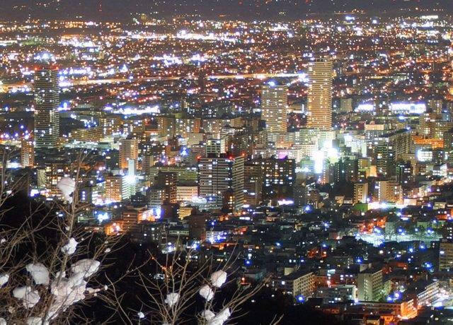 2017年11月27日(月)  冬の夜のきらめき(2)  大倉山_a0345007_11231169.jpg