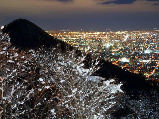 2017年11月27日(月)  冬の夜のきらめき(2)  大倉山_a0345007_11252932.jpg