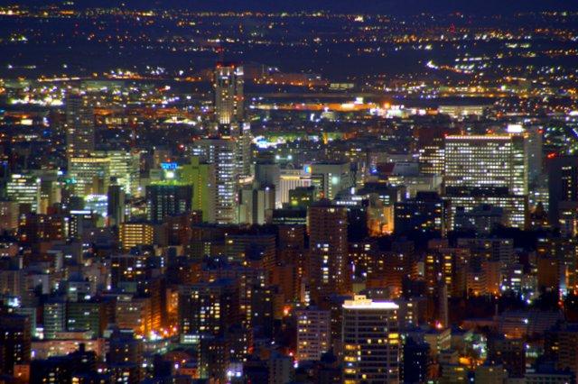 2017年11月27日(月)  冬の夜のきらめき(2)  大倉山_a0345007_11342765.jpg