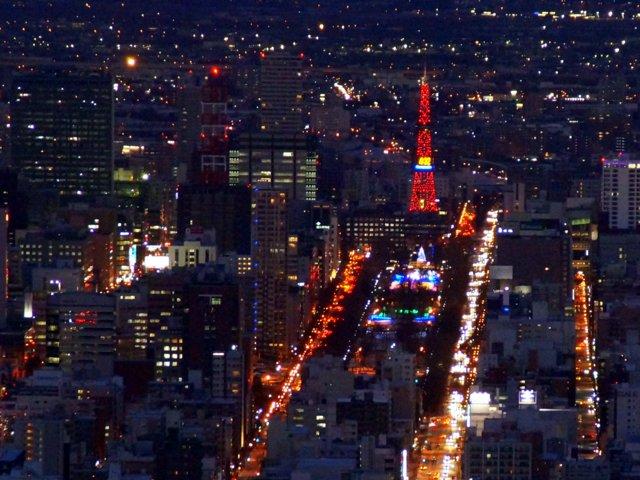 2017年11月27日(月)  冬の夜のきらめき(2)  大倉山_a0345007_121375.jpg