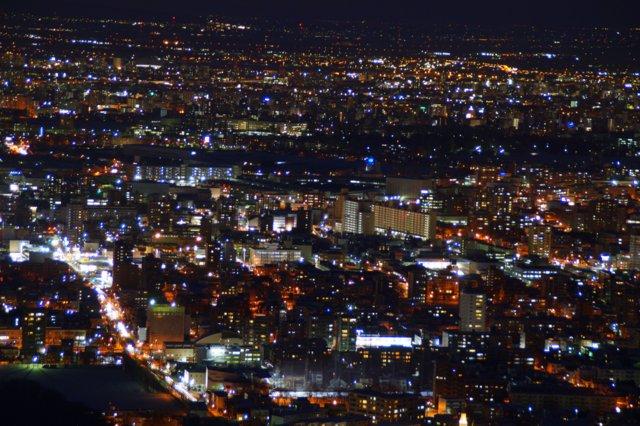2017年11月27日(月)  冬の夜のきらめき(2)  大倉山_a0345007_1723885.jpg
